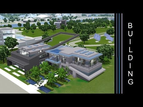 The Sims 3 - Building a Futuristic House - Modern Degrees