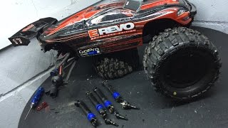 update drive axles traxxas e revo brushless edition hd