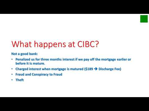 CIBC Corruption Collusion Fraud Theft Part 1