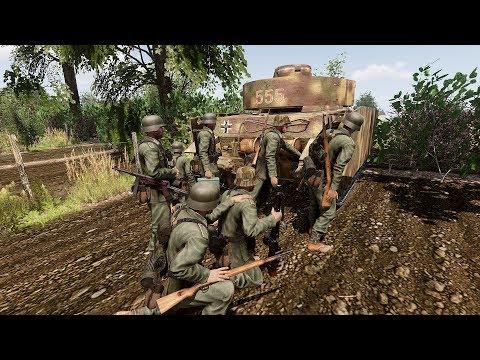 Arma 3 World War 2 Joint Op! Beach Landing! - 동영상