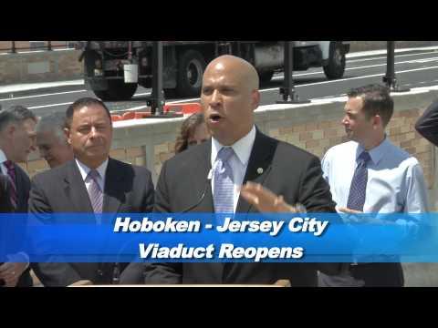 Hoboken/Jersey City Viaduct Reopens