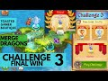 Merge Dragons Challenge 3 Final Win • 1m56s • Butterfly Dragon Kid
