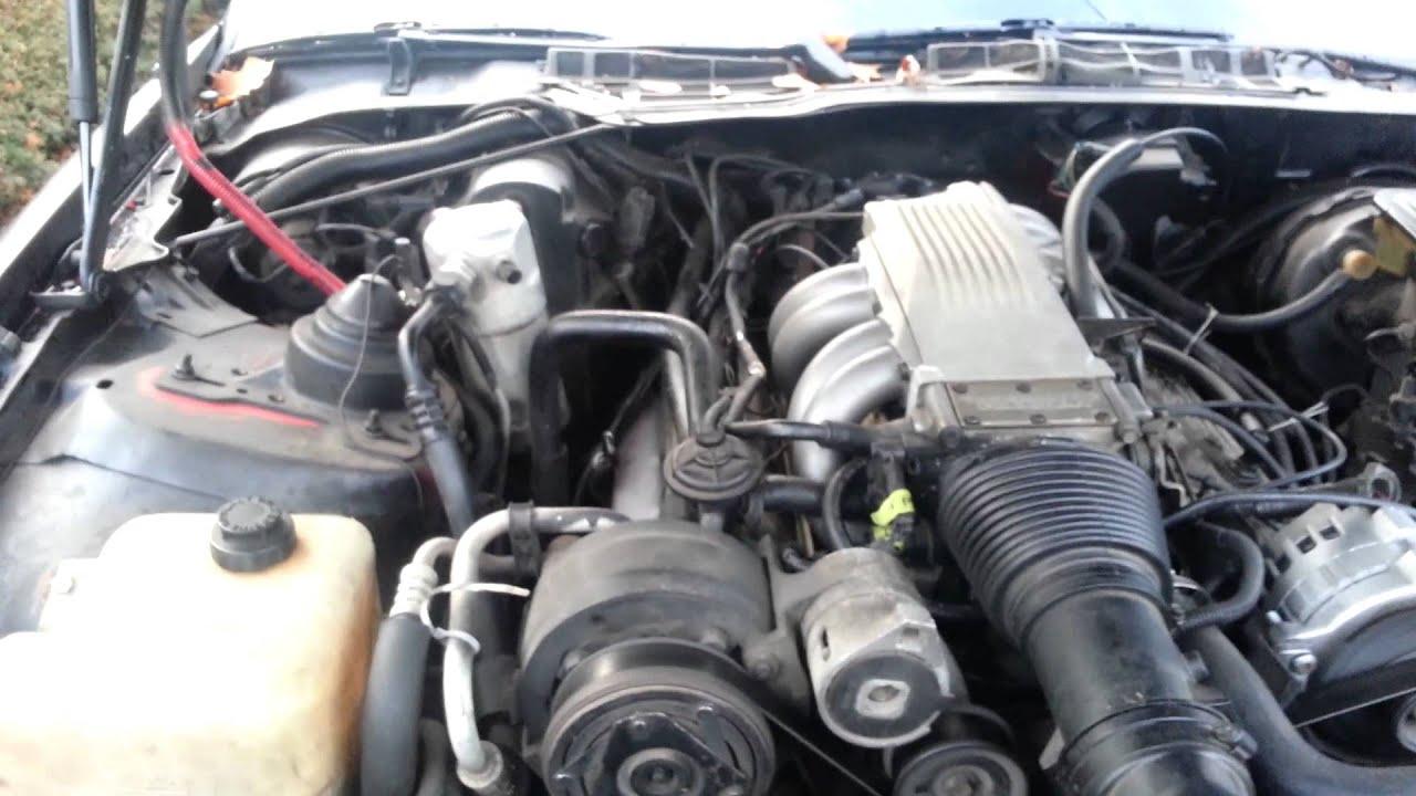 Camaro Iroc Z >> 88 iroc-z Camaro 350 tpi - YouTube