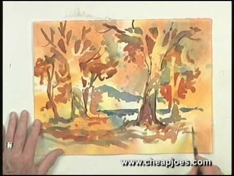 Creative Realism in Watercolor: DVD excerpt from Tony van Hasselt