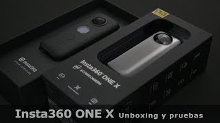 Insta360 ONE X unboxing y primeras pruebas