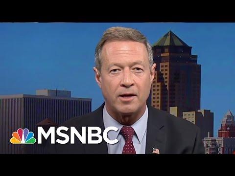 Martin O'Malley: Bernie Sanders Didn't Want More Debates | MSNBC