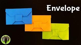 Envelope  - DIY Origami Tutorial by Paper Folds