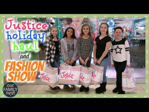 JUSTICE HOLIDAY HAUL & STYLE SHOW