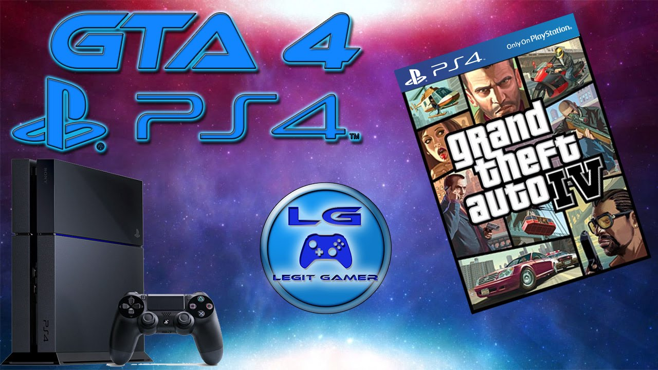 how to play gta 4 on ps4
