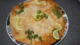 Marokkanische Fisch Pastilla / Moroccan Fish Pastila / Pastilla Au Poisson