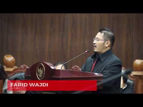 HALAQOH NASIONAL DI MK ini NAMANYA, SIDANG MK - Judicial Review Perppu Ormas