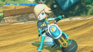 Mario Kart 8 Deluxe - 150cc Crossing Cup Grand Prix (Rosalina Gameplay)