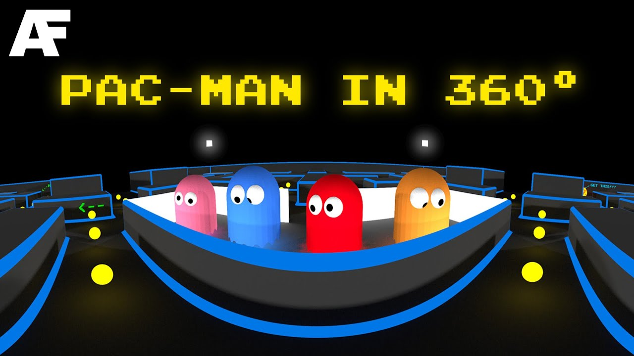 Pac-Man in 360° - YouTube