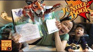 정글북! 정글에 남겨진 아이 모글리의 운명은? 정글북 팝업북 The Jungle book pop-up book