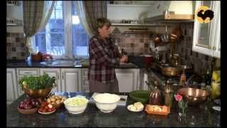 Пирог с паприкой и кабачками. На кухне у Марты 37
