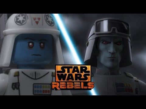 Star Wars Rebels Season 4 Trailer in LEGO Side by Side Comparison