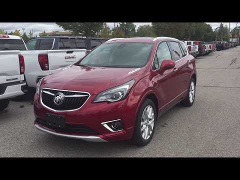 2019 Buick Envision AWD Auto Stop Sunroof Hands Free Hatch Red Oshawa ON Stock #190911