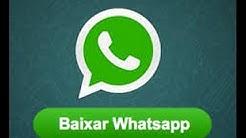 Como Baixar Whatsapp apartir do Google Play Store