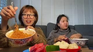 3X spicy ramen challenge 🥵
