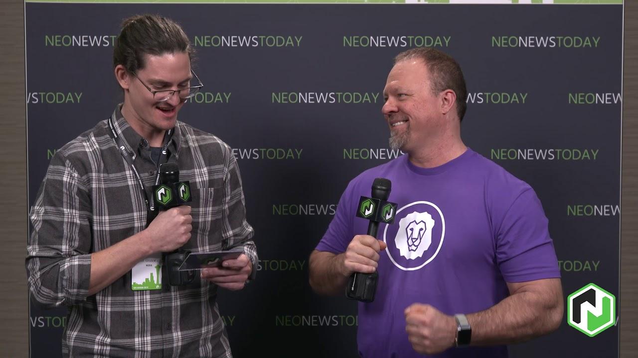 Mark Jeffrey - Guardian Circle interview at NEO DevCon 2019