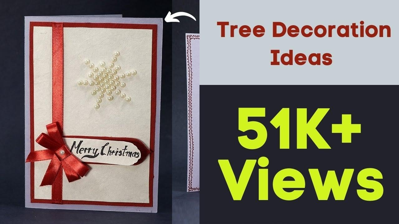 Attractive Art And Craft Ideas For Making Greeting Cards Part - 9: Handmade Pop Up Christmas Card - DIY Christmas Pop Up Greeting Card -  YouTube