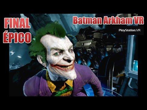 Batman Arkham VR – Parte 4: FINAL ÉPICO!! Gameplay PT-BR (PSVR)