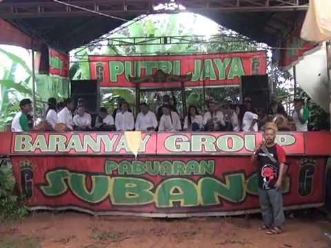 Jaipongan BARANYAY GROUP SUBANG. lagu: Sanga Gancang.