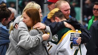 A nation in mourning: Families grieve for Humboldt Broncos