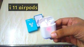 i11 TWS Wireless Bluetooth Earphone Stereo Earbuds Headset Twins