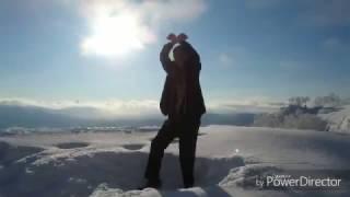 前前前世(パラパラ ver) 01-北海道篇-@トマム山 雲海テラス -20℃ / PARATARO(パラ太郎)