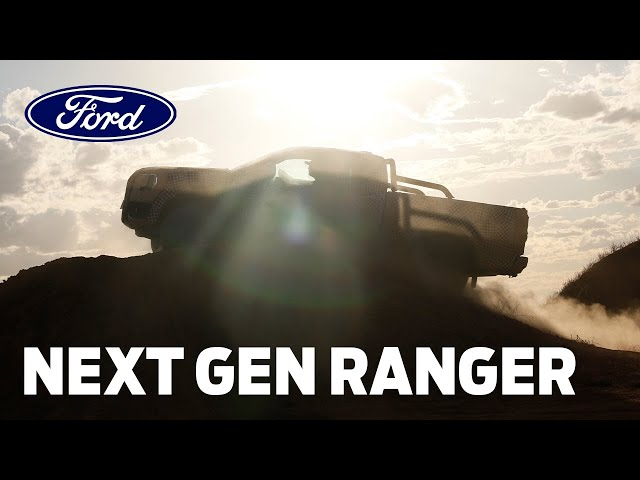 Get Ready For The Next-Gen Ford Ranger!
