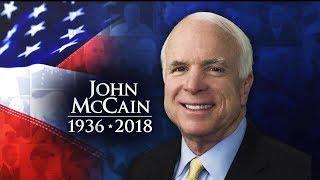 John Mccain Lies In State At The Arizona Capitol Rotunda   Memorial Ceremony