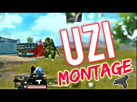 The UZI Montage | Pubg Mobile UZI kills montage