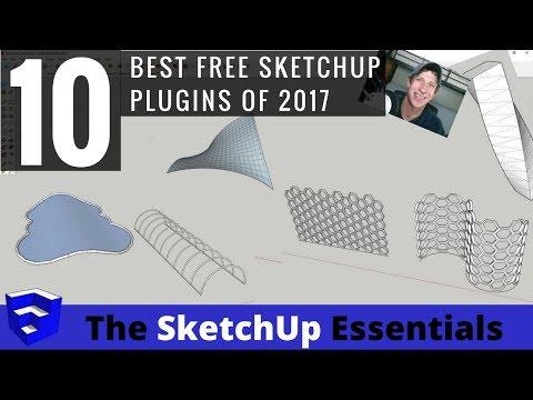 My Top 10 Free SketchUp Plugins in 2017 - YouTube