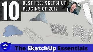 My Top 10 Free SketchUp Plugins in 2017