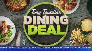Tony's Table: Best Dining Deals