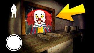 КЛОУН ПЕННИВАЙЗ СЕКРЕТНЫЙ ПОДВАЛ СОСЕД ГРЕННИ - Clown Neighbor 2 Granny Escape