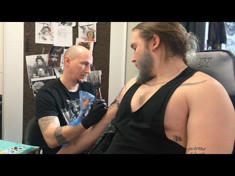DEC 31 - JAN 8 blue beard and tattoos