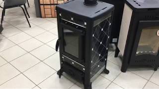 видео BestFire Чугунные печи-буржуйки (Китай)