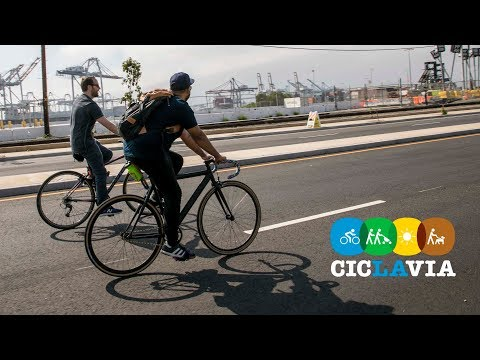 CicLAvia: San Pedro Meets Wilmington at the Port of Los Angeles