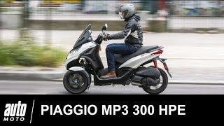 2019 PIAGGIO MP3 300 HPE ESSAI POV Auto-Moto.com