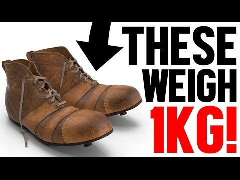 50 mind-blowing & funny football boot facts!