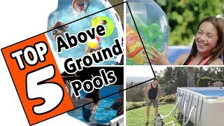 Gambar cover 🌻 Best Above Ground Pools of 2019 - Top 5 Swimming Pools For The Summer