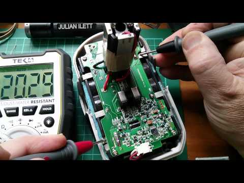 Fixing 18V 2.4Ah Ryobi Lithium Power Tool Batteries