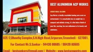 Best Aluminium Acp Works - 9443080605 - Aluminium Cladding,
