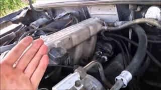 Fixing Truck With Liquid Nitrogen