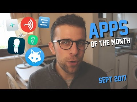 Apps of the Month | September 2017 | iOS, Mac & Android