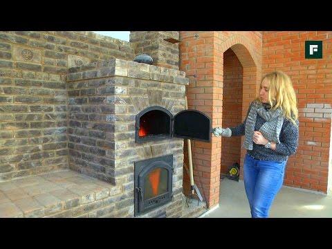 видео: Многофункциональная печь и другие инженерные системы в комбинированном доме // forumhouse