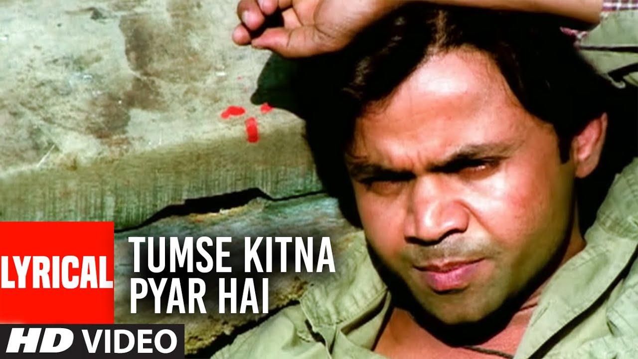 Tumse Kitna Pyar Hai Lyrical Video | Company | Altaf Raja | Ajay Devgan, Vivek Oberoi, Rajpal Yadav