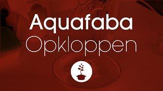 aquafaba opklopbaar